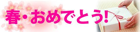 春おめでとう