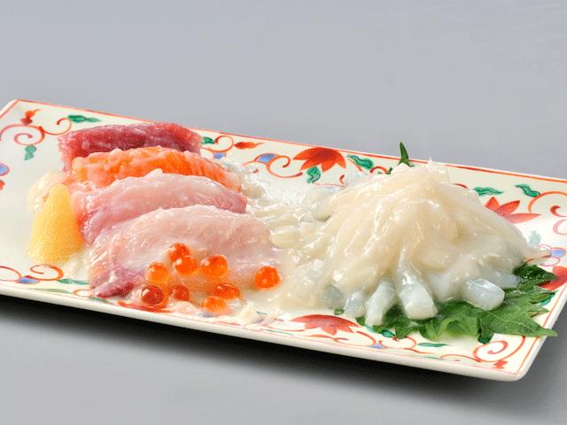 海鮮ミックス-白づくり